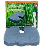 Novabel Coussin ergonomique Coccyx - Coussin Chaise - Coussin à mémoire de forme coccyx assise confort soulage douleur au dos, coccyx, sciatique - Confortable