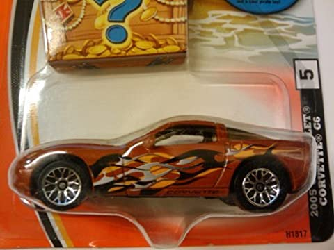 Matchbox Brown 2005 Chevrolet Corvette C6 Bonus Prize Inside 2004 by Matchbox
