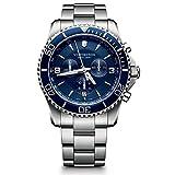 Victorinox Reloj Cronógrafo de Cuarzo para Hombre con Correa de Acero Inoxidable – 241689