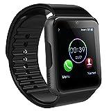 Bluetooth Smartwatch, SAINKO Intelligente Armbanduhr Fitness Tracker Armband Sport Uhr mit Schlafanalyse/Kameraaufnahme/Schrittzähler/GPS-Routenverfolgung Kompatibel mit Android Smartphone (GT08)