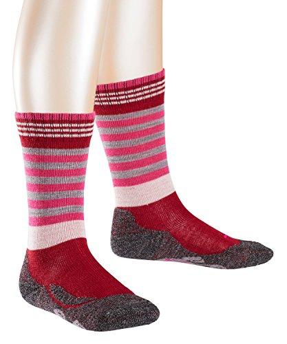 falke socken kinder FALKE Mädchen Frog Socken, per pack Mehrfarbig (cranberry 8033), 23-26 (Herstellergröße: 23-26)