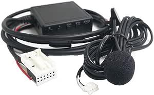 Bluetooth Aux Adapter Mit Mikrofon Für Volkswagen Elektronik
