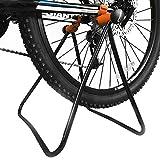 POIUYT Fahrradständer, HY0219-W362, höhenverstellbar, zusammenklappbar, mechanischer Reparaturständer für Fahrrad-Aufbewahrung