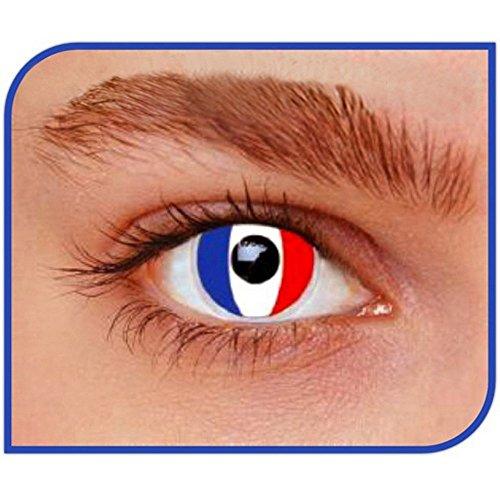 Linsen-Farbe Ertragen ohne Stärke Frankreich Länder Karneval Halloween ()