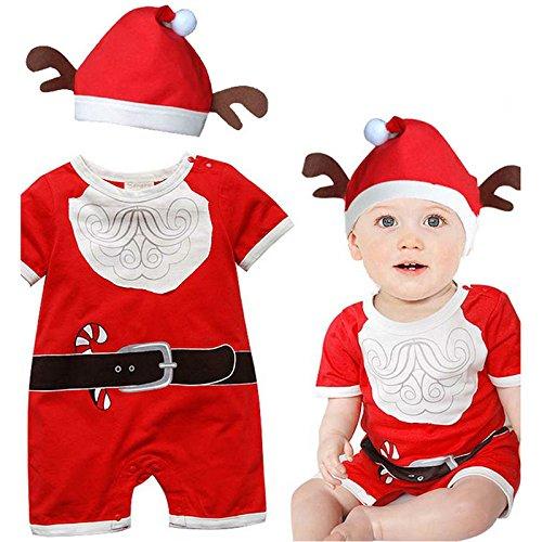 Weihnachtsmannkostüm für Baby / -