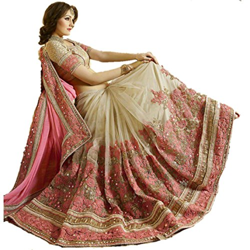 Fab Fort Saree (Fabfs-269_Pink, Gold)