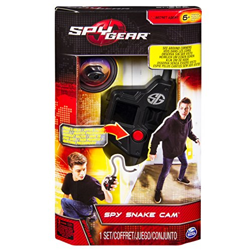 Spy Gear Snake Cam Spying - juguetes de rol para niños (Single toy, Spying, Niño, Negro, Monótono, AAA)