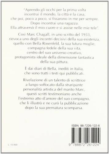 Zoom IMG-1 bella chagall diario sentimentale