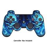 GameXcel ® Autocollant pour Sony Manette PS3 Playstation 3 - Blue Daemon [Manette Non inclus]