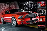 1art1 49563 Autos - Easton Roter Mustang Poster 91 x 61 cm