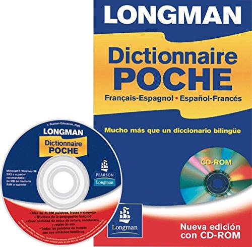 Longman dictionnaire poche + CD ROM: Mucho más que un diccionario bilingüe (Longman Dictionary) por Person Educación
