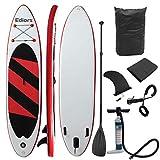 Cw 330 x 76 x 15 cm aufblasbares Surfbrett Stand Up Paddelboard Soft Anfängerbrett W/Carry Tasche Handpumpe