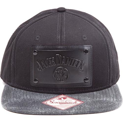 Preisvergleich Produktbild Jack Daniels Cap with Square Plate Black