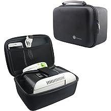 NiceCool® Bolsa de viaje de almacenamiento con carcasa rígida EVA para Samsung Gear VR Galaxy S6, S6Edge, S6Edge + (Plus) Note 5VR + gafas de realidad virtual 3D de cristal + Kit de controlador de juego Gamepad.