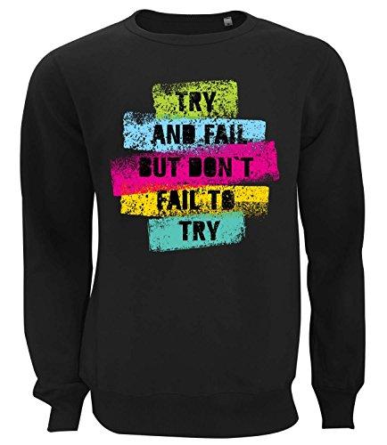 dont-fail-to-try-motivation-series-womens-unisex-sweatshirt-black-small