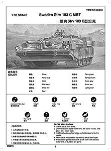 Trumpeter 00310 Sweden Strv 103C MBT - Tanque Miniatura (Escala 1:35)