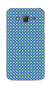 Amez designer printed 3d premium high quality back case cover for Samsung Galaxy J5 (Geometric Bright Pattern8)