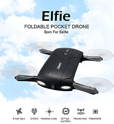 JJRC H37 Elfie Pocket Foldable Selfie Drone