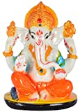 GREENTOUCH CRAFTS Hand Made Lord Ganesha Statue Spiritual idols For Temple / Home Decor / Gifting / Office
