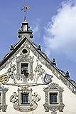Artland Qualitätsbilder I Wandtattoo Wandsticker Wandaufkleber 80 x 120 cm Architektur Gebäude Foto Blau D0BG Ravensburg