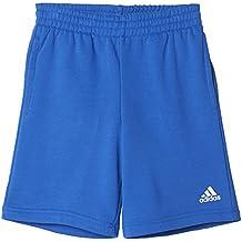 adidas Yb Logo Pantalón Corto, Niños, Azul (Azul), 128