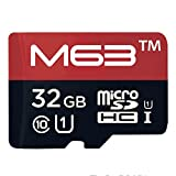 #7: M63 32GB Class 10 Micro SD Memory Card - 95MB/s with Adapter