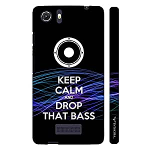 Micromax Canvas Unite 3 DROP THAT BASS designer mobile hard shell case by Enthopia