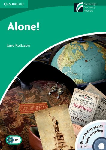 CDR3: Alone! Level 3 Lower-intermediate with CD-ROM and Audio CD (Cambridge Discovery Readers) (Tapa blanda)