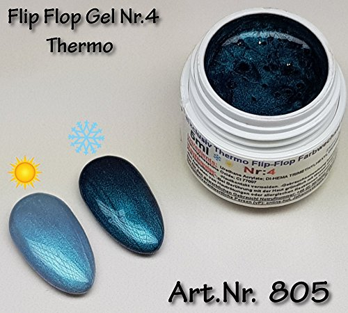 5ml UV Exclusiv Thermo Flip Flop Gel Thermo Flip Flop Gel Nr.4 - 4 Bunk