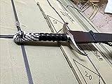 dragonreborn Jon John Snow Schwert mit Plakette und Scheide - 108cm