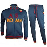 A.S. Roma Herren Trainingsanzug BLU Antracite