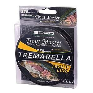 Spro Trout MasterTremarella Mono Forellenschnur 250m 0,18