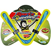 Helium All Colourful Style Returning Boomerang Sports Game Toy for Beginners and Young Throwers 2 Wings(Assorted Colour)