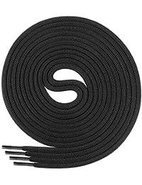 Di Ficchiano Schnürsenkel, Rundsenkel für Business- und Lederschuhe, reißfester Allroundsenkel, ø 3mm, Länge 60-130 cm, 25 Farben aus Polyester