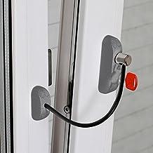 Bsl CABLE PRIME - Cerradura de Protección para Puertas y Ventanas (Color: ...