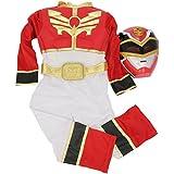 Rubie`s - Disfraz infantil de Power Rangers Musculoso en caja, color rojo (886669-S)