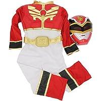 Rubie`s - Disfraz infantil de Power Rangers Musculoso en caja, color rojo (