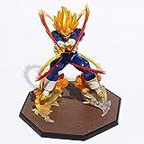 Anime Dragon Ball Z Super Saiyan Vegeta Battle State Final Flash PVC Action Figure Toy Model da collezione 15CM