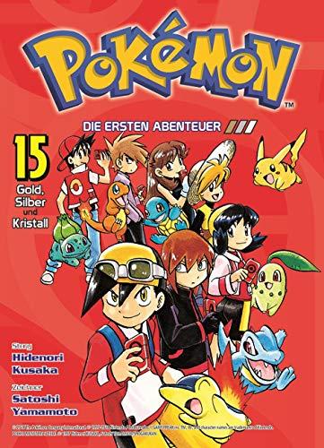 Pokémon - Die ersten Abenteuer: Bd. 15: Gold, Silber und Kristall