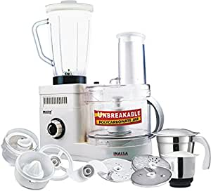 Inalsa Maxie DX 650-Watt Food Processor