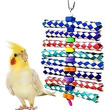 Foamy Delight Bird Toy Parrot Cage Craft giocattoli gabbie Cockatiel Parrotlet Conure