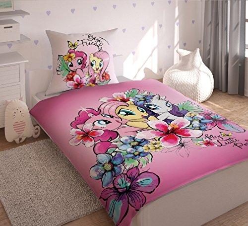 My Little Pony lenzuola COPRIPIUMINO singolo 160x200cm 100% COTONE ORIGINALE biancheria da letto bambina