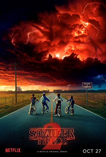 Stranger Things Temporada 2 Poster 70x45