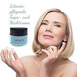 Gesichtscreme Feuchtigkeitscreme mit 24 % Eselsmilch, Coenzym Q10 und Aloe Vera 1er Pack (1 x 50 ml)