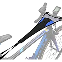 Cubierta de Sudor para Entrenamiento de Bicicleta Impermeable, Bicicleta Trainer Sweat Net Frame Guard Absorbe el Sudor, Prevenir la Bicicleta de la Corrosión