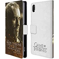Official HBO Game Of Thrones Stannis Baratheon Character Portraits Leather Book Wallet Case Cover For Sony Xperia Z2