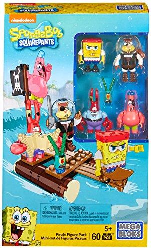 Mattel Mega Bloks CNH56 - Bob Esponja Pirata cifras juguetes de envase