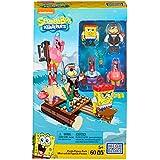 Mattel Mega Bloks CNH56 - Bob Esponja Pirata cifras juguetes de envases, construcción y edificación