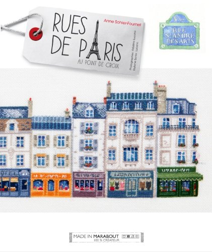 Rues de Paris au point de croix