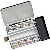 schmincke Shuminke Hora dam half pan 8 color set (metal case with input and water bottle) 74 408 (japan import)